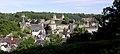 Fougères (35) Le château vu du jardin public 01.JPG