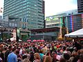 Fountain Square during Taste of Cincinnati 2009.jpg