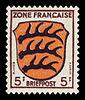 Fr. Zone 1945 3 Wappen Württemberg.jpg