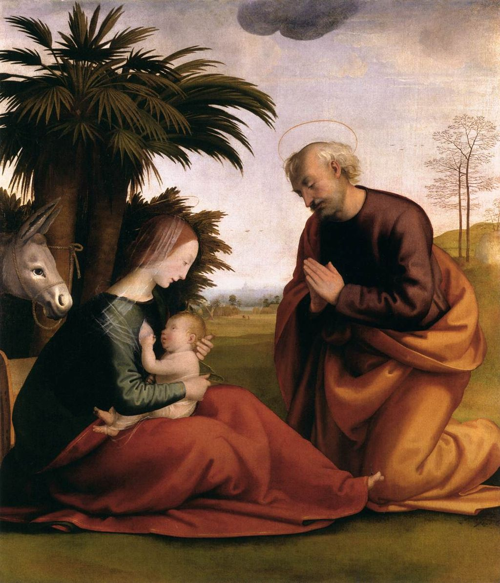Fra bartolomeo 10 Rest on the Flight into Egypt