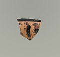 Fragment of a terracotta kylix- band-cup (drinking cup) MET DP21799edited.jpg