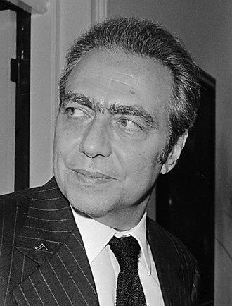 François-Xavier Ortoli - Image: François Xavier Ortoli (1973) (cropped)