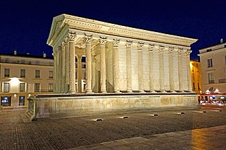 "Roman temple, the ""Maison Carree"" France-002419 - Square House (15707007177).jpg"