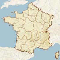 موقعیت شهر پاریس در کشور فرانسه