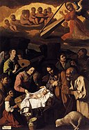 Francisco de Zurbarán - The Adoration of the Shepherds - WGA26058.jpg