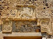 Markuslöwe am venezianischen Kastell von Frangokastello (Kreta)