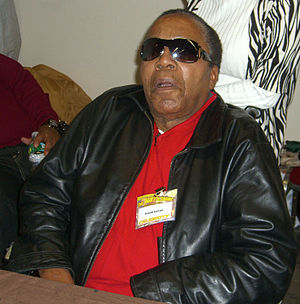 Former drug lord Frank Lucas at the November 2...