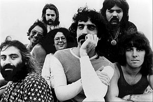 The Mothers of Invention - Image: Frank Zappa Mothers of Invention 1971