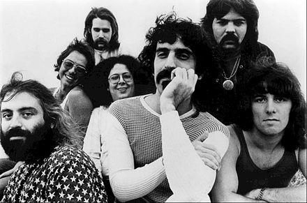 Frank Zappa and the Mothers of Invention, 1971 Frank Zappa Mothers of Invention 1971.JPG