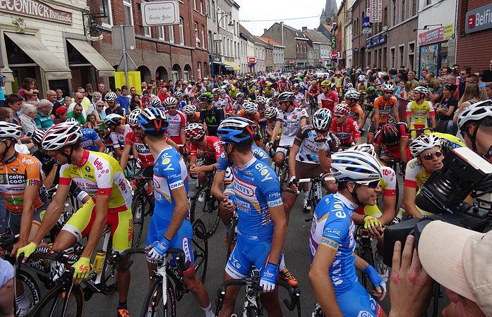 Frasnes-lez-Anvaing - Tour de Wallonie, étape 1, 26 juillet 2014, départ (C33).JPG