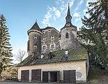 Frauenstein Schloss Frauenstein Nord-Ansicht mit Burgkapelle 14122016 5656.jpg