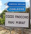 Frazione di Contessa Entellina - segnaletica bilingue.jpg
