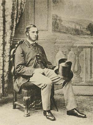 Frederick DuCane Godman - Godman as a young man