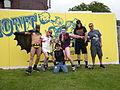 Fremont Solstice Parade 2008 - Batman et. al. 01.jpg
