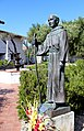 Fremont USA CA - Mission San Jose - Father Junípero Serra, O.F.M., known as Fra Juníper Serra (November 24, 1713 – August 28, 1784) was a Spanish Franciscan friar who founded the first nine of 21 Spanish missions in Ca - panoramio.jpg