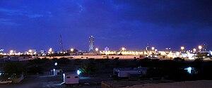 Fujairah, U.A.E in evening