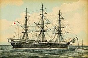 Japanese warship Fujiyama - The Fujisan (Japanese:富士山).