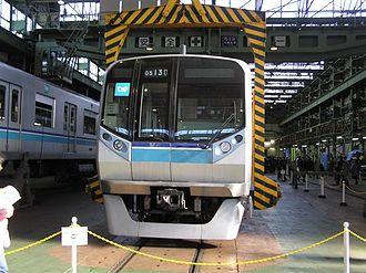 Tokyo Metro Tōzai Line - 05N series EMU at Fukagawa Workshop