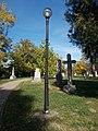 Funerary Memorial Park, lamp post, 2017 Törökbálint.jpg
