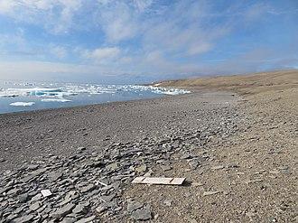 HMS Fury (1814) - Image: Fury Bay Beach & Debris Nunuvut Canada