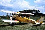 G-ANZU De Havilland DH82A Tiger Moth Old warden 1975 (35676741603).jpg