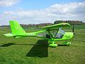 G-CDHX Aeroprakt A22 Foxbat (5447176597).jpg