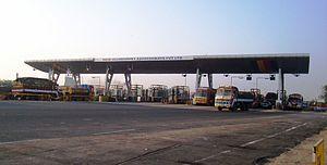 Vikravandi - Toll Plaza at Vikravandi