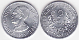 2 sylis coin of 1971