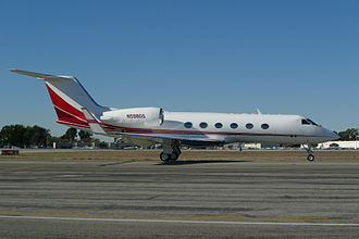 Gulfstream IV - GULFSTREAM G-IV at John Wayne Airport (KSNA), December, 2013