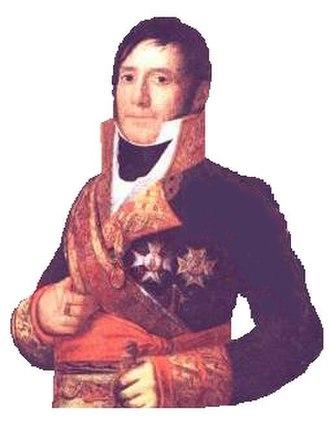 Gabriel de Mendizábal Iraeta - Gabriel de Mendizábal by Goya.