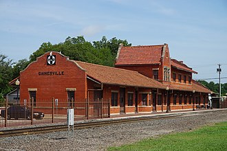 Gainesville, Texas - Historic Santa Fe Depot