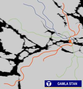 tunnelbana farsta