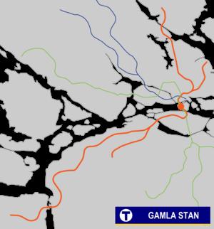 Gamla stan metro station