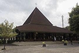 Ganjuran Church, exterior 01