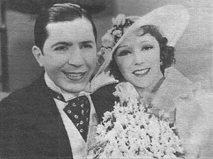 El día que me quieras (1935 film) - Carlos Gardel and Rosita Moreno, who starred the film.