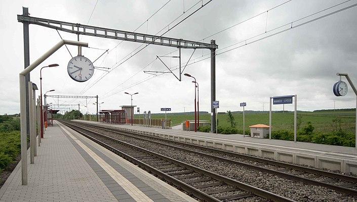 Mamer Lycée railway station