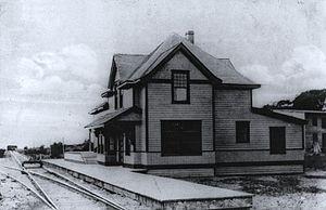 Neuville, Quebec - CN Station, Neuville, 1910