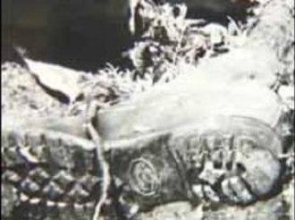 Forensic footwear evidence - Image: Garnett John Doe shoe