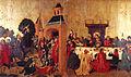 Gaspard Isenmann, L'Entrée du Christ à Jérusalem, La Dernière Cène.jpg