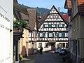 Gasse in der Altstadt Haslachs (Lane in Haslach Old Town) - geo.hlipp.de - 22687.jpg