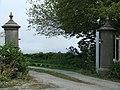 Gate entrance alongside Cornelyn Lodge - geograph.org.uk - 171807.jpg