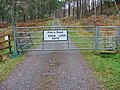Gate on the Public Road to Inverwick - geograph.org.uk - 276859.jpg