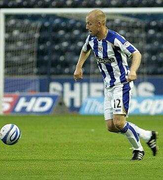 Gavin Skelton - Skelton playing for Kilmarnock, 2009