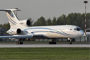 Gazpromavia - Gazpromavia Tupolev Tu-154M