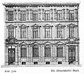 Gebäude der Düsseldorfer Volksbank (später Geschäftshaus der Düsseldorfer Bank), Breite Straße 7 in Düsseldorf, erbaut 1890 vom Architekten Peter Paul Fuchs.jpg