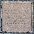 Gedenktafel Markt (Weimar) Jean Paul.jpg