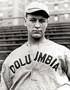 Gehrig on the Columbia University baseball team
