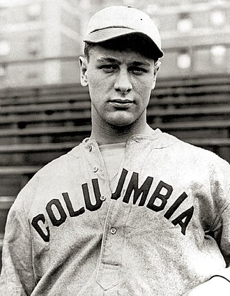 Lou Gehrig - Gehrig on the Columbia University baseball team
