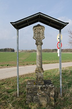 Geldersheim, Bildstock, D-6-78-132-28, 001.jpg