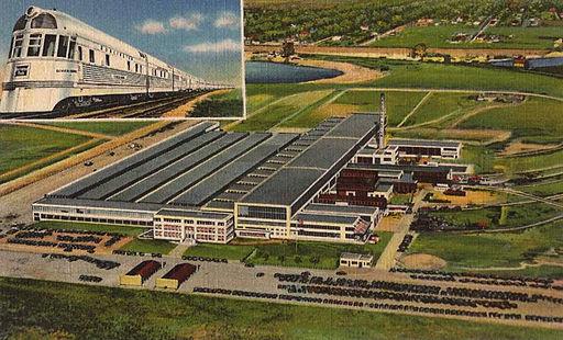 General Motors Electro Motive Diesel Locomotive plant La Grange Illinois